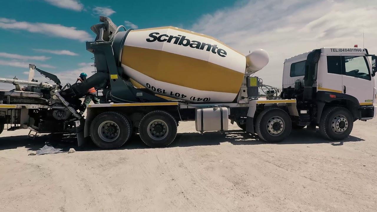 Scribante Concrete – Concrete Services in the Eastern Cape
