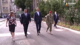 Preşedintele Klaus Iohannis a vizitat, miercuri, Institutul Cantacuzino