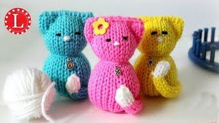 LOOM KNIT Cat Kitty Doll Telar Redondo | Strickring | Obręcze Dziewiarskie | Tricotin | نول | 圆形针织猫