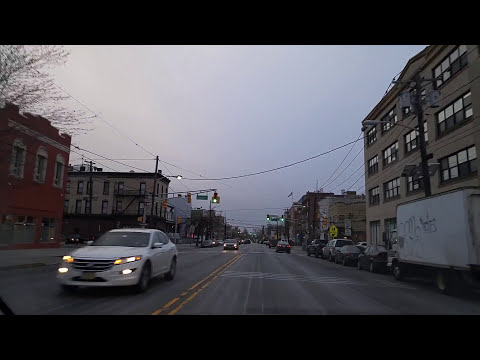 Video Driving by Jersey City,New Jersey