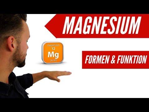Welches Magnesium ist das Richtige? | Formen und Funktion | 2/24🎅🏻 CoachPatrick 2018
