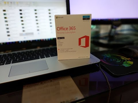 Renewing Microsoft Office 365 Personal Subscription via Prepaid [Lazada]