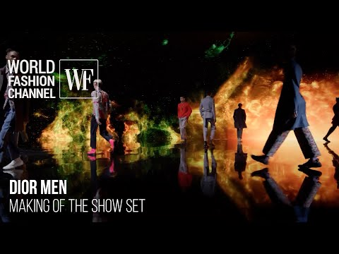 Dior Men Special Beijing event | Making of the show set