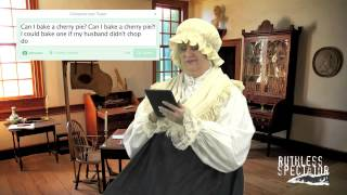 Tweets of The Rich & Famous: Martha Washington #8