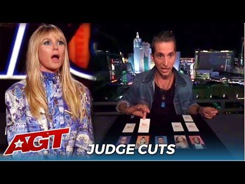 Max Major: Mentalist BLOWS The Judges Away on @America's Got Talent Judge Cuts