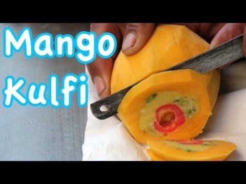 Mango Kulfi – The Delicious Stuffed Indian Ice Cream