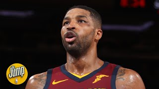 Tristan Thompson tried to be a point guard and it didn't go well   The Jump