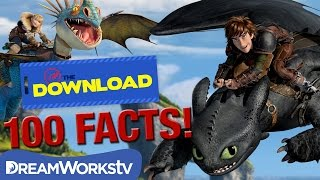 100 HTTYD Facts Only True Fans Know | THE DREAMWORKS DOWNLOAD