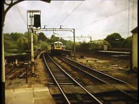 Diesels and Electrics on the West Coast Main Line in the 196…