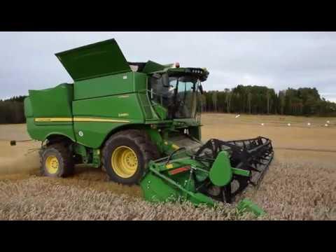 John Deere Skurtresker S-serien - film på YouTube