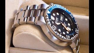 Deep blue pro sea diver 1000 bracelet black dial