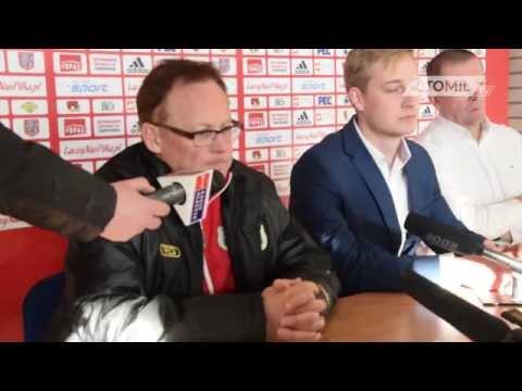 Konferencja prasowa po meczu Pogoń Siedlce - Stomil
