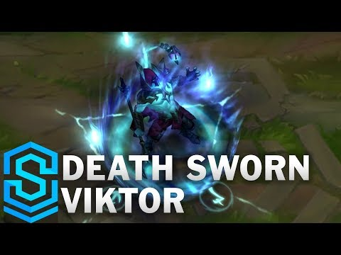 Death Sworn Viktor Skin Spotlight - League of Legends