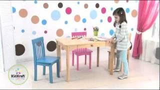 Kids Furniture; Avalon Table By KidKraft