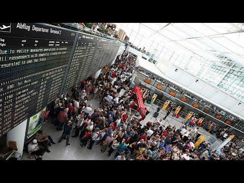 العرب اليوم - شاهد: مسافر تائه يتسبَّب في إلغاء 130 رحلة في مطار ميونيخ