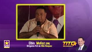 preview picture of video 'Dirigentes de Villa Vásquez  Con Tito Bejarán Senador (Indetenible Studio 829-867-2342)'