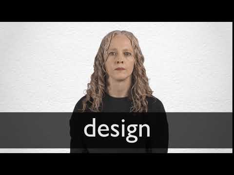 Design Synonyms Collins English Thesaurus