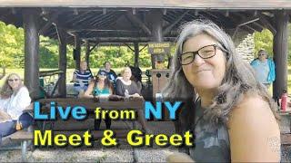 New York Meet And Greet Live Stream