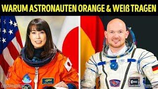 Raumanzüge sind aus einem bestimmten Grund orange und weiß