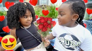 I PUT BABY WOO WOP ON A DATE WITH ANOTHER GIRL *THEY LIKE EACH OTHER*