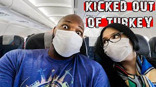 WE GOT KICKED OUT OF TURKEY | FLYING DURING THE PANDEMIC | Istanbul to Belgrade Flight | Air Serbia