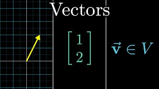 I imagine many viewers are already familiar with vectors in some context, so this video is intended both as a quick review of vector terminology, as well as ...