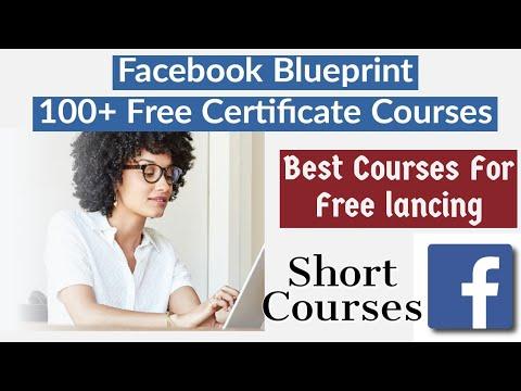 Facebook offering 100+ Free Certificate Courses | Facebook Blueprint