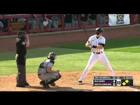 South Carolina vs Ole Miss Baseball 2014 Game #2