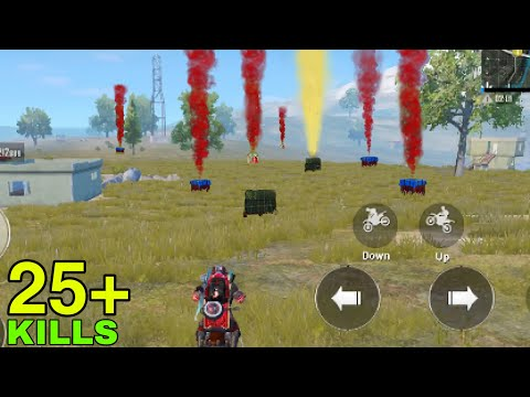 Download Airdrop RECORD in One Game | PUBG MOBILE Mp4 HD Video and MP3