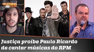 Para Adrilles e Joel, RPM proibir Paulo Ricardo de cantar músicas da banda é mesquinharia