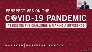 Perspectives on the COVID 19 Pandemic: Chenault Mills Keynote