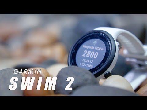 Đồng hồ thông minh chuyên bơi lội Garmin Swim 2