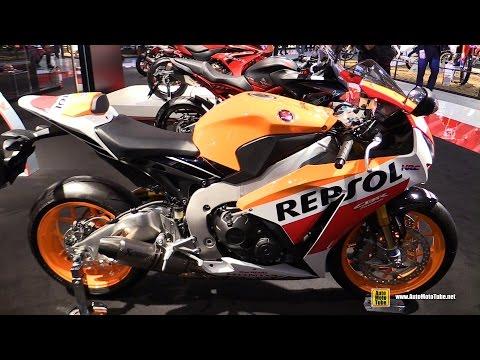 2016 Honda CBR1000RR Fireblade SP - Walkaround - 2015 EICMA Milan