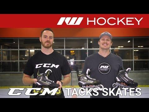 CCM Tacks Roller Hockey Skate // On-Tile Insight