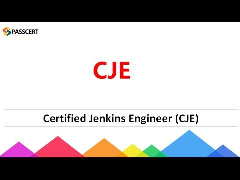 Certified Jenkins Engineer (CJE) Certification Dumps - YouTube