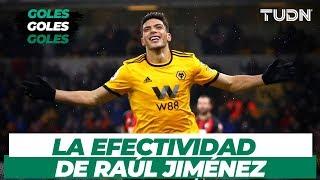 ¡Los mejores goles y asistencias de Raúl Jiménez! | TUDN