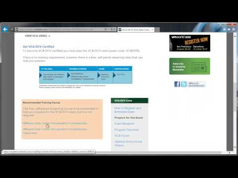 The New VMware Certified Associate (VCA) Exams - YouTube