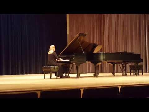 Carl Vine 1st Piano Sonata, Mov. 1