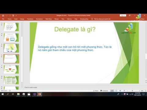 VD18 - Delegate - Part 2