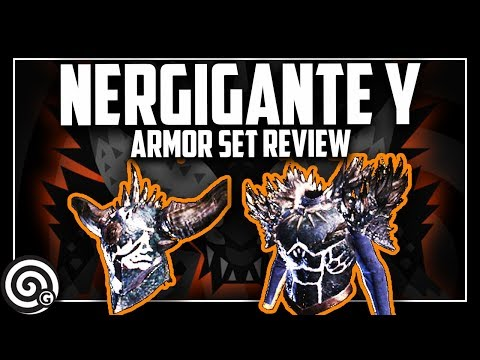 ARMOR REVIEW - Nergigante Y Gamma Set | Monster Hunter World