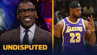 Shannon Sharpe was impressed with LeBron, Lakers wins over Jazz and Hornets | NBA | UNDISPUTED