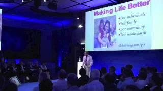 Building a Better World: ultimate mission and brand value. Motivational Leadership keynote speaker