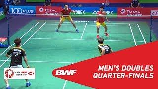 QF | MD | GIDEON/SUKAMULJO (INA) [1] vs CHEN/WANG (TPE) [7] | BWF 2018