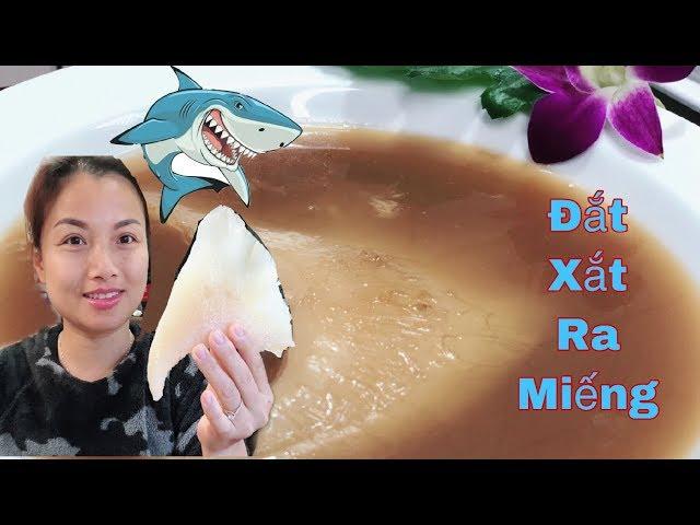 ����Thử Nấu & Ăn Súp Sụn Vi Cá Mập Sang Chảnh – Đắt Xắt Ra Miếng – Cuộc sống ở Nhật #88
