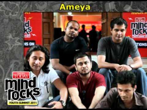 Mind Rocks - India Today Youth Summit Ameya  Performance