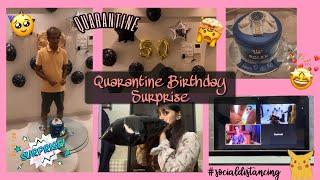 [VLOG] Quarantine 50th Birthday Party Surprise For Dad!! || Yashika Poojari