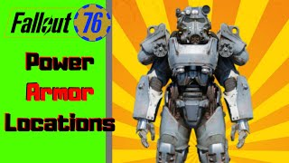 Fallout 76  Maxed Level T-51 & T -60 Power Armor Locations - Plus Bobble Heads, magazines, and More