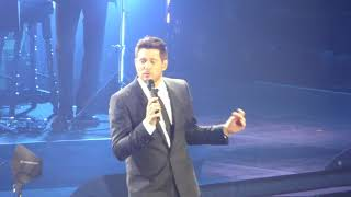 Michael Bublé   I Only Have Eyes For You (Debut) (HD)   O2 Arena   29.09.18