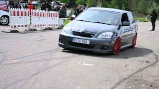 Toyota Corolla E12 TS Drift Slalom