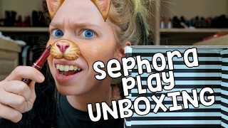 SEPHORA PLAY UNBOXING! - JANUARY 2107!